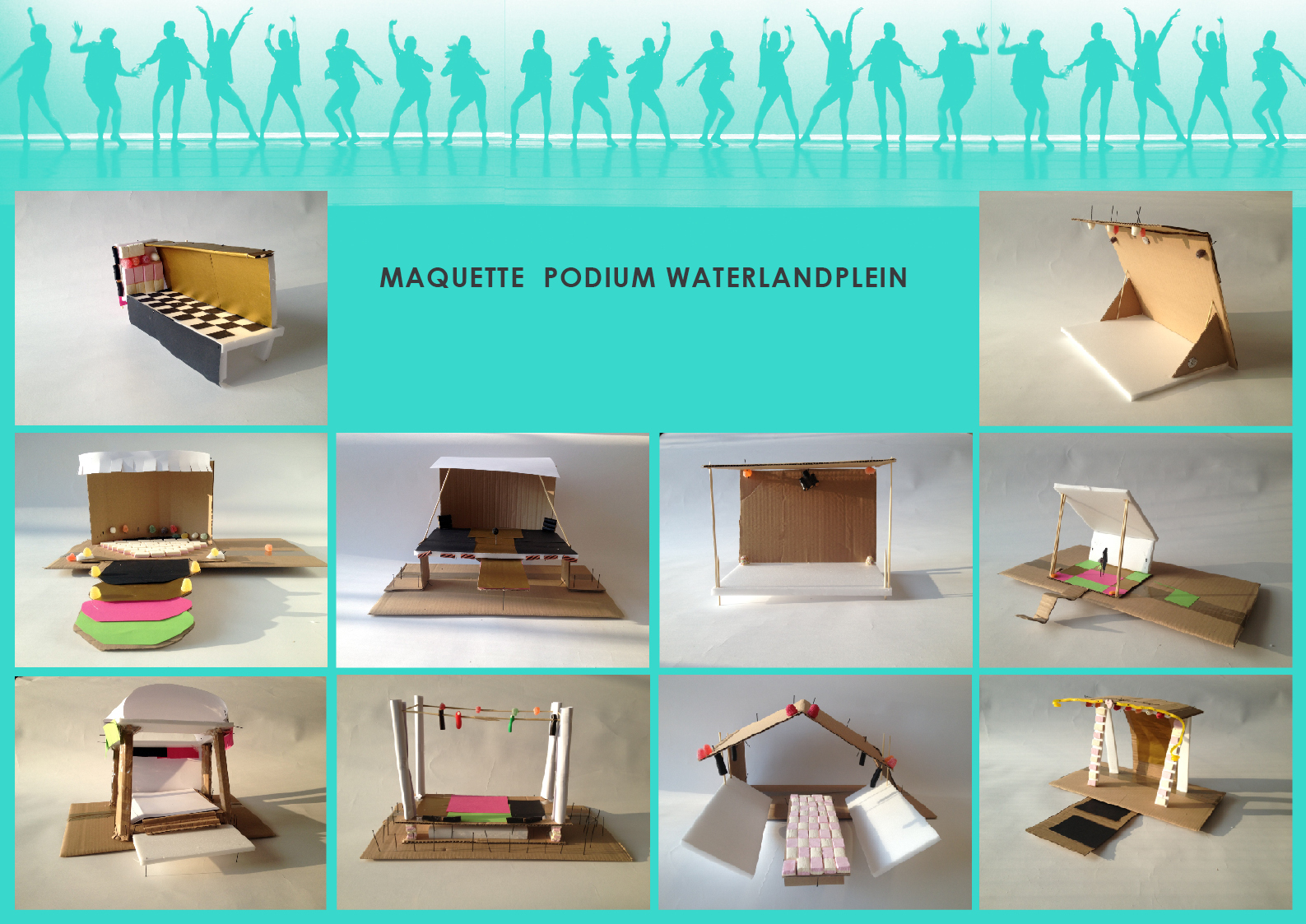 Maquettes Podium Waterlandplein