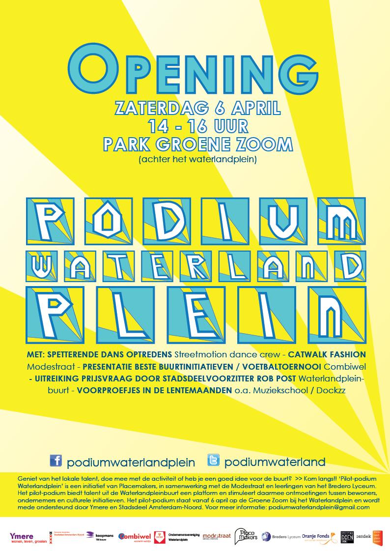 Poster_opening_podiumwaterlandplein