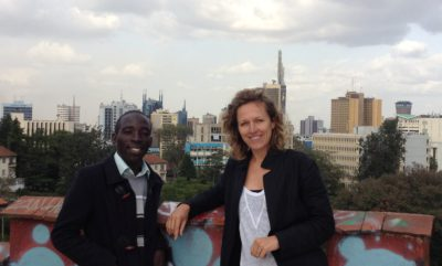 Welcome Mark At Placemakers Nairobi