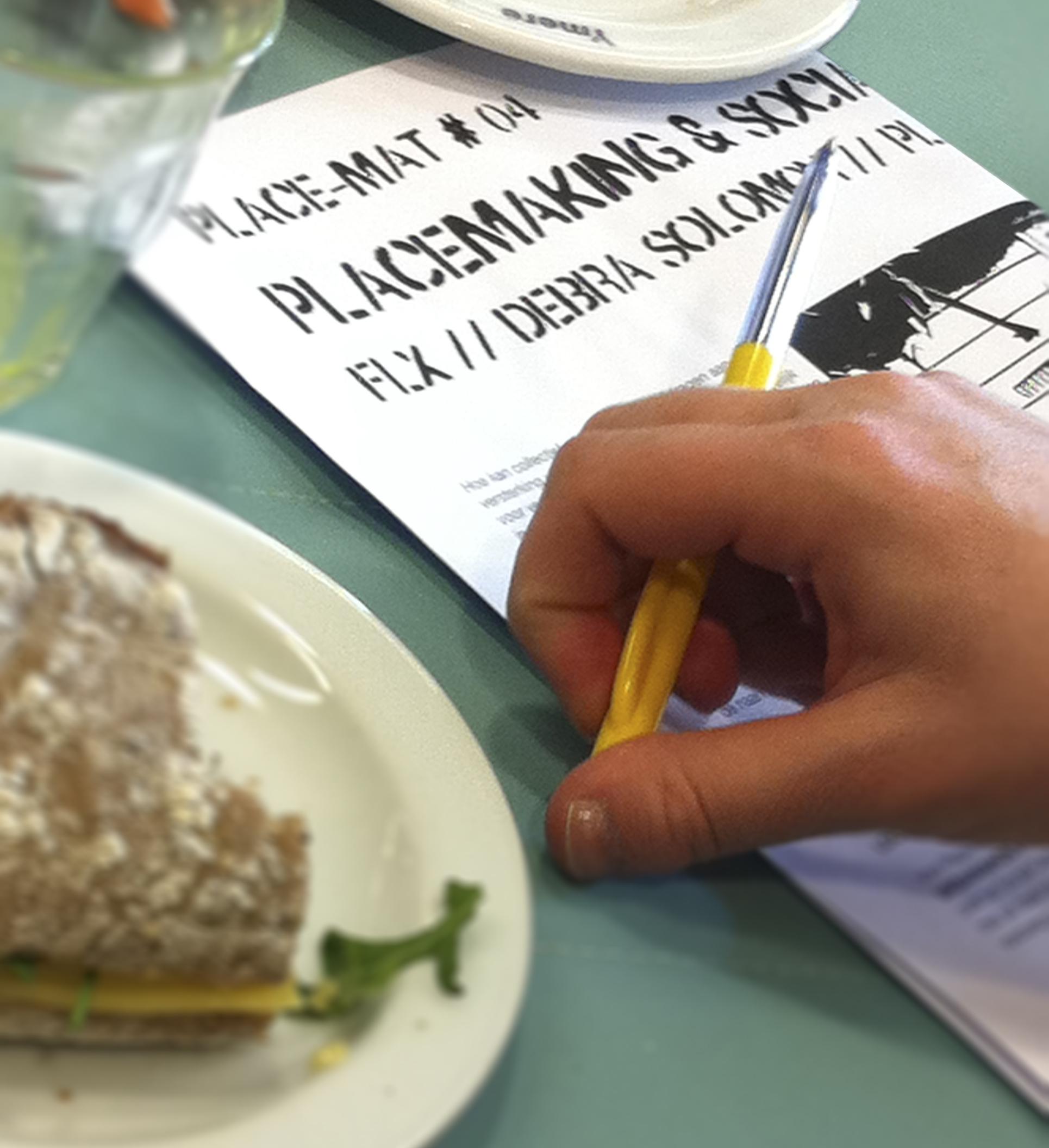 Placemat Lunchlezingen