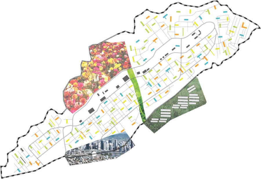 Strategy Dandora  Map
