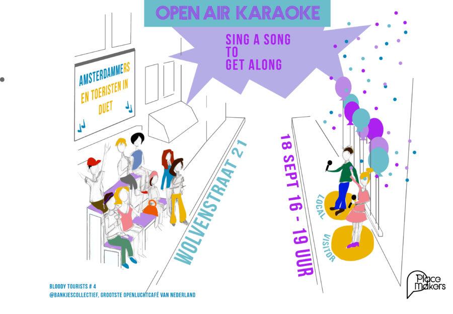 Bloody Tourist @bankjescollectief: Open Air Karaoke