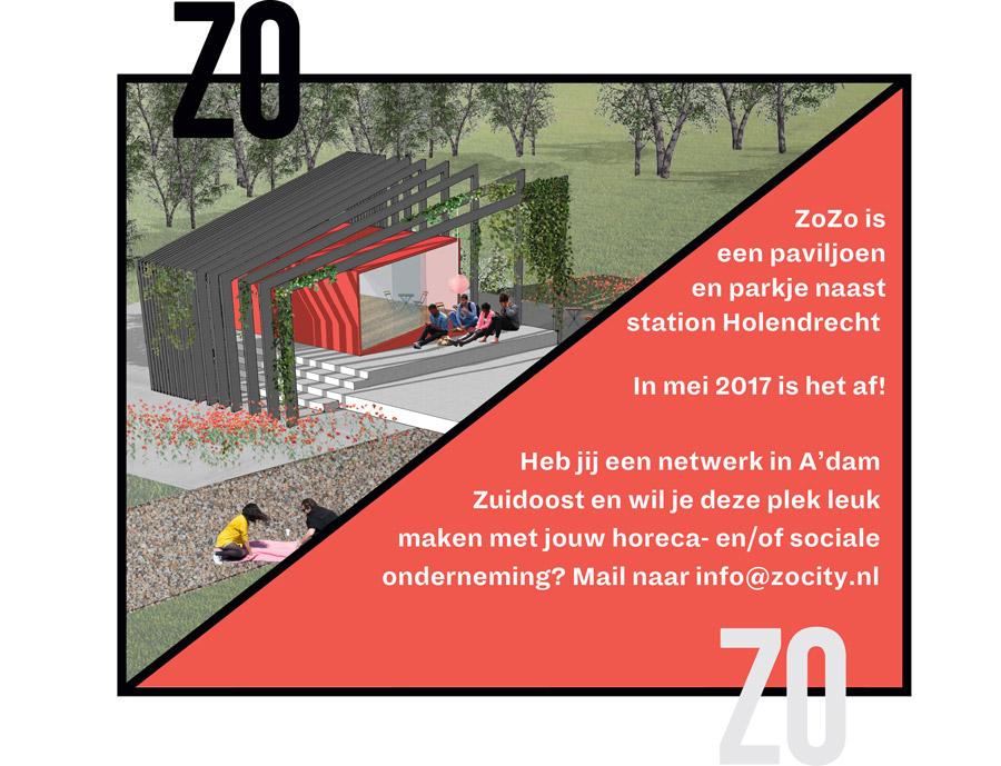 ZoZo Holendrecht: Paviljoen Zoekt Plan!