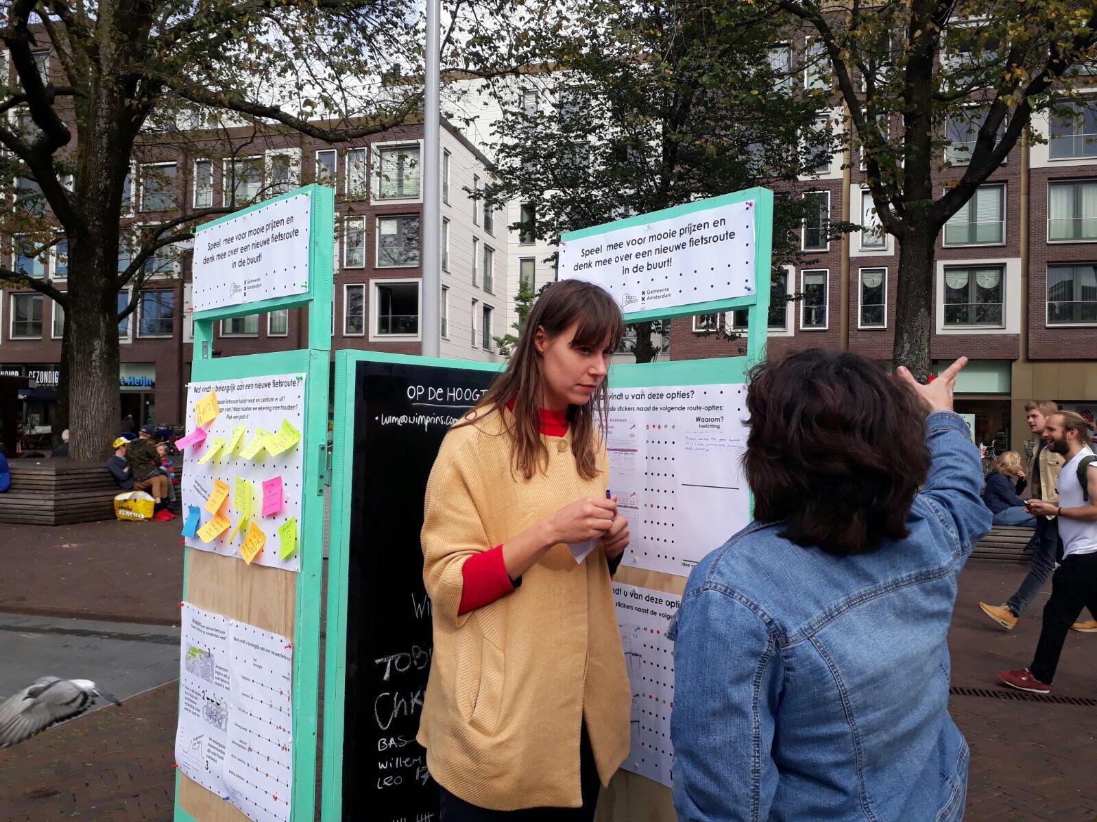 Actie-onderzoek Fietsroute Haarlemmerbuurt