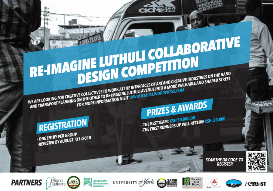 Nairobi Calling! Apply Now For The Luthuli Avenue Collaborative Design Competition